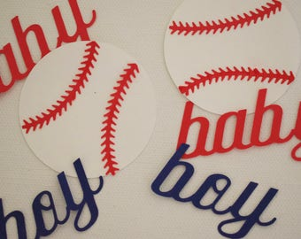 Baby Shower or Little Boys Birthday Confetti