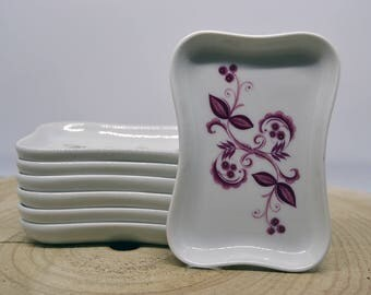 7th plates Limoges-China Limoges