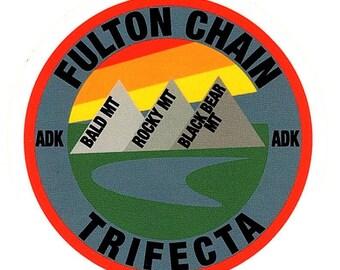 Fulton Chain Trifecta Sticker
