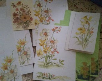 Vintage Stationery Collection ~ Daffodil Days Collection
