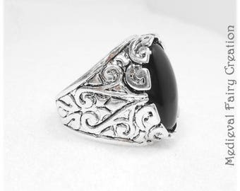 """Prince"" Adjustable ring for men or women"