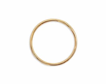 14K Solid Gold 1.25mm Skinny Ring, Stack Ring, Thin Gold Band, Ultra Thin Gold Ring, Solid Gold Band, Thin Wedding Ring, Stackable Ring