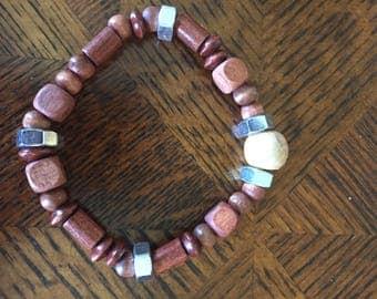 Woody Nut Men's Bracelet