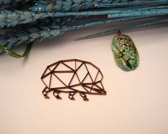herison origami 02052 embellishment wooden creations