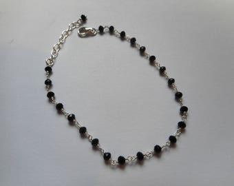 Onyx 925 sterling silver bracelet
