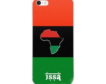 ISSA Pan-Afrikan iPhone Case