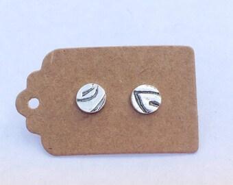 Leaf Stud Earrings