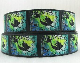 332 - Ribbon Mermaid - grosgrain - 25 mm sold by 50 CM - Mermaid ribbon