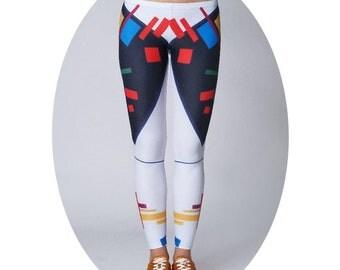 Sexy leggings, Colorful leggings, Festival leggings, Yoga leggings, Unique leggings, Yoga Pants, Gym Leggings, Workout Leggings, Meditation