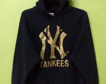 Major League Baseball / New York Yankees / Big Logo /Hoodie /Black Colour