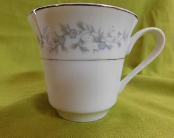 Tea Cup Forget Me Not Japan