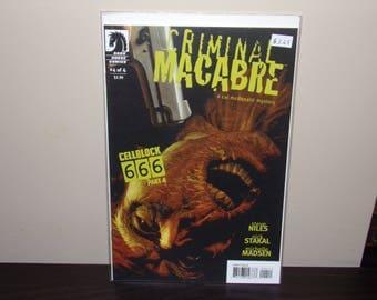 Criminal Macabre  #4   Dark Horse Comics