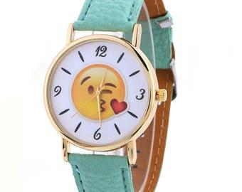 Emoji Quartz Wrist Watch
