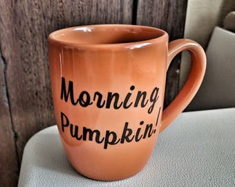 Fall morning mug