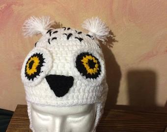 Owl Ear-Flap Hat