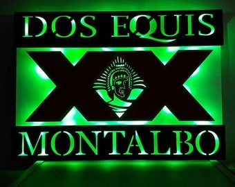 Do XXX  3-D Battery Powered LED Wall Sign Man / Fan Cave, Gift for Him Anniversary, Birthday, Wedding Christmas