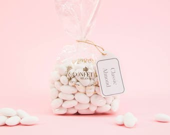 The Classic Italian Wedding Confetti Almond Candies Soft For Weddings Communion Baptism