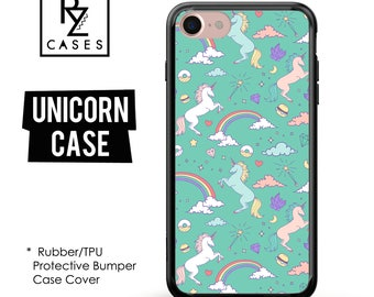 Unicorn Phone Case, Dream Phone Case, Unicorn iphone Case, iPhone 7, Animal, Gift for Her, iPhone 7 Plus, iPhone 6S, Rubber, Bumper