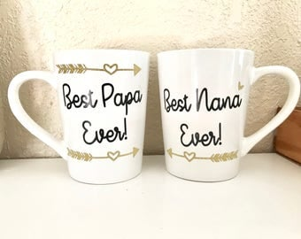 Grandparent Mug Set