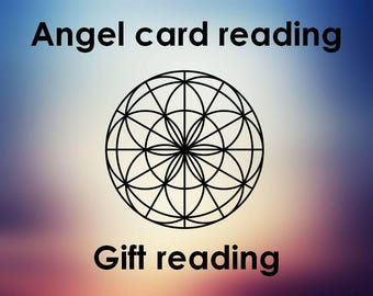 Angel card reading: Gift reading