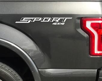Ford F150 Sport 4x4 Decals F150 F250 F350 Super Duty Truck Sticker 2017 2018 V1
