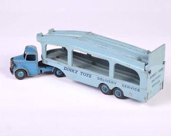 Dinky Toys Delivery Service Car Transporter