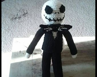 Crochet Jack Skellington Doll Nightmare Before Christmas