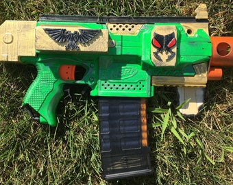 Nerf Gun Bolter Prop, Modified