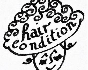 Hair Conditioning Stickers