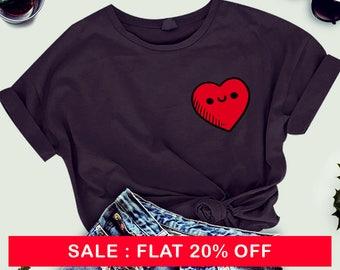 Love Pocket Heart Shirt Tee T-shirt Mens Womens Ladies Funny Gift ideas , woman t-shirt, ladies shirt , top , womens shirt