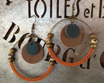 Vintage Creole earrings