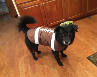 Dog's Vest: Reversible Football Vest