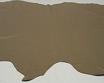 Leather Cow Hide Beige Gray Automotive Upholstery Crafts Cowhides TS11075