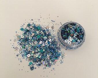 Ice Queen Glitter • Chunky Glitter • Festival Glitter