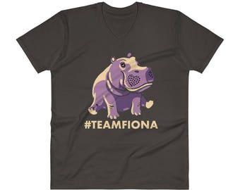 Fiona The Hippo Shirt #TeamFiona Shirt, Cute Baby Hippo Tee