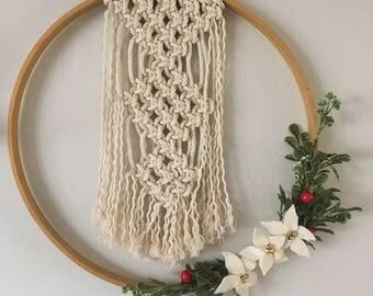 Holiday Wreath *Macrame*