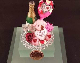 Miniature Valentine's Tray