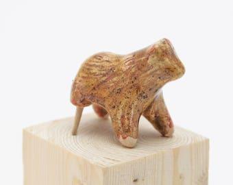 The wooden leg bear