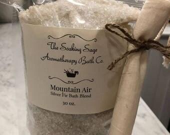 Mountain Air Silver Fir Bath Blend