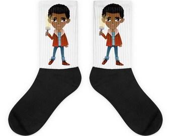 Stranger things socks, Stranger things Christmas present Horror socks Mike socks Stranger things Mike shirt, Stranger things show socks