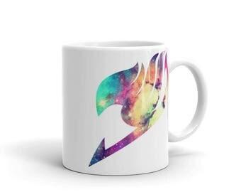 Fairy Tail Galaxy Guild Mark Mug