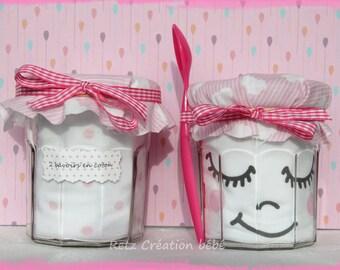 Gift baby 2 jars jam girl