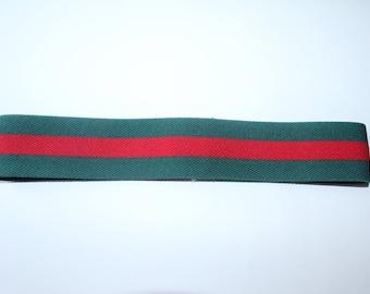 gucci headband mens. kids fashion inspired gucci headband designer plain thin green \u0026 red strap mens