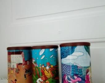 RICORÉ Jars, Vintage RICORÉ French Jars, Storage Jars, French Vintage Storage