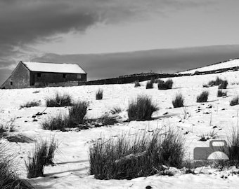 """Mounted Photographic Display Print - Peak District #1 (A4 print in 14"""" x 11"""" Mount, Unframed)"""