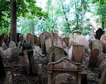 Gravestones, Jewish Cemetery, Prague
