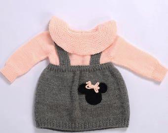 handmade organic babygirl dress