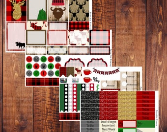 Lumberjack Happy Planner Kit