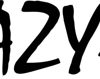 EAZY-E Vinyl Decal Sticker