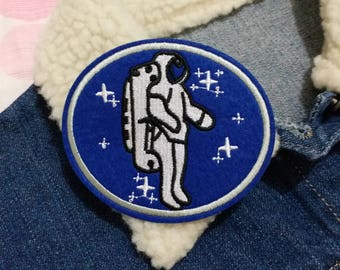 Astronaut Patch, Iron on Patch